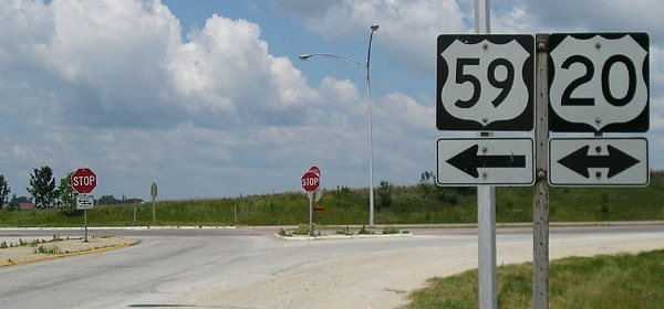 five year plan includes completion of four lane us 20 iowa highway