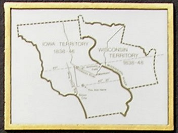 This Map Is On A 1992 Marker At The Us 59 Mn 60 Minnesota Welcome Center About Four Miles North Of The State Line The Relevant Text On The Marker Says