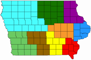 Iowa Congressional District Maps - Us house of representatives illinois district map