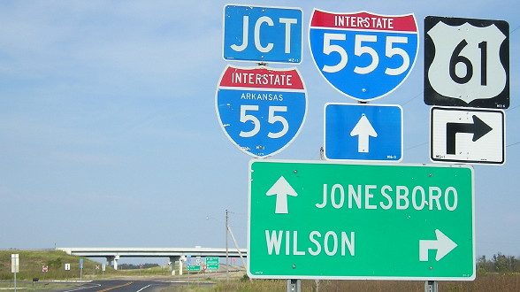 End of US 63