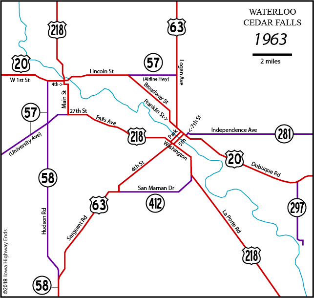 Waterloo Maps